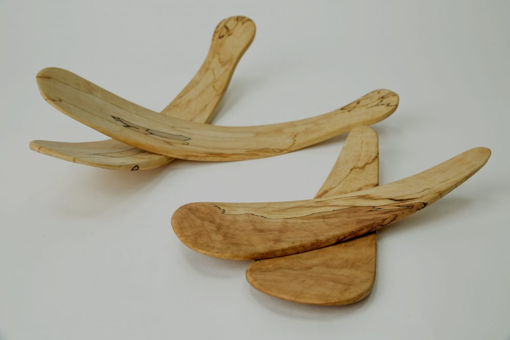 Spencer Peterman Tossers Wooden Salad Servers