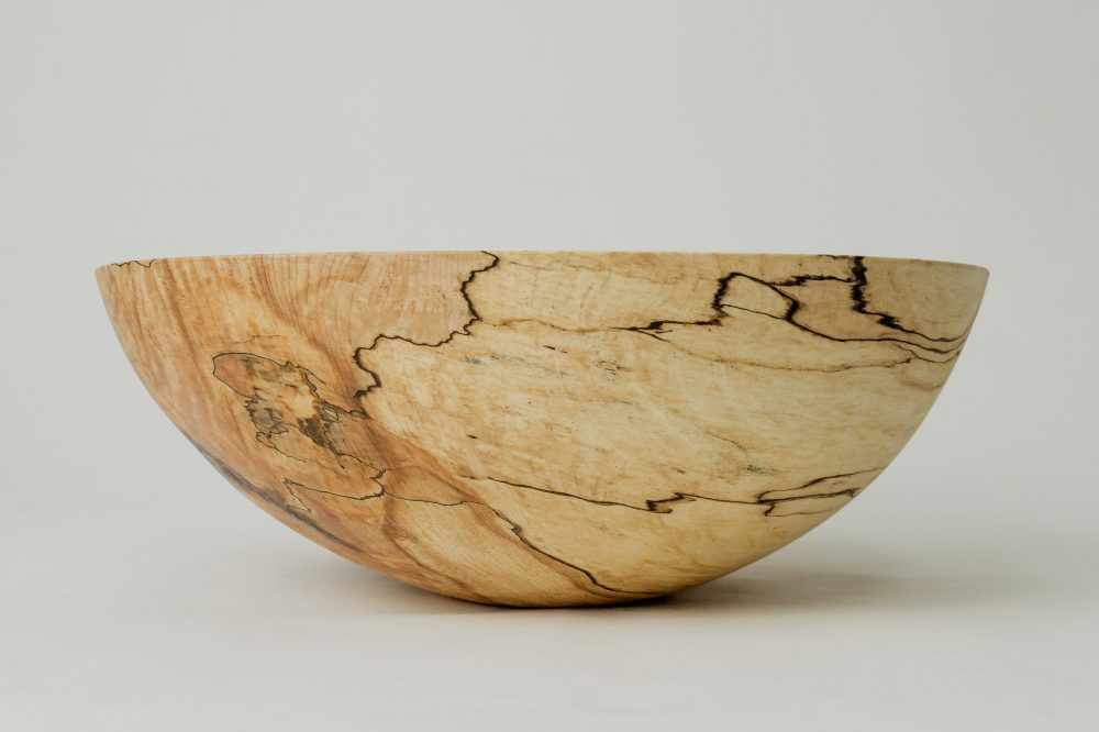 Spencer Peterman Spalted Wood Bowl