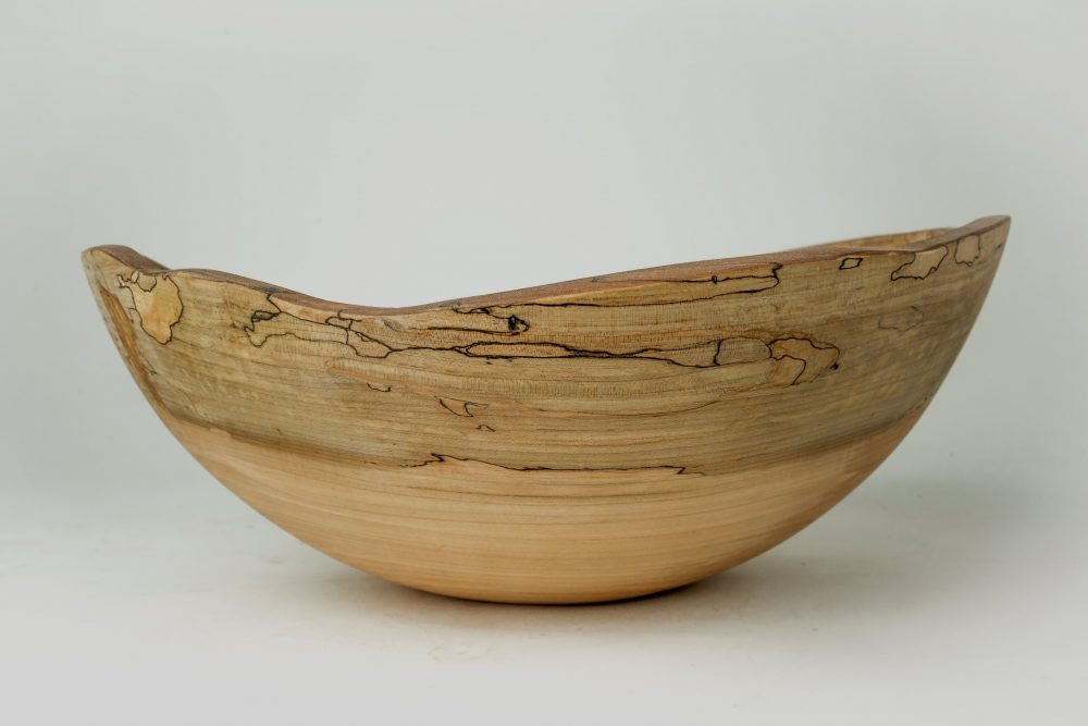 Spencer Peterman Large Oval Wooden Bowl
