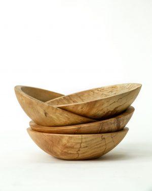 set of 4 - classic round salad bowls