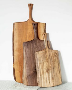 serving boards with handle