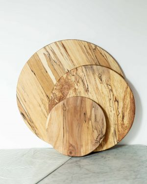 live edge round boards