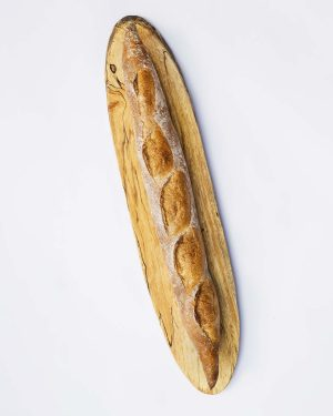 live edge baguette board