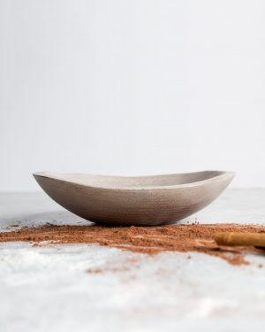 live edge driftwood oval bowls
