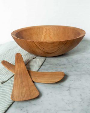 classic round cherry bowls
